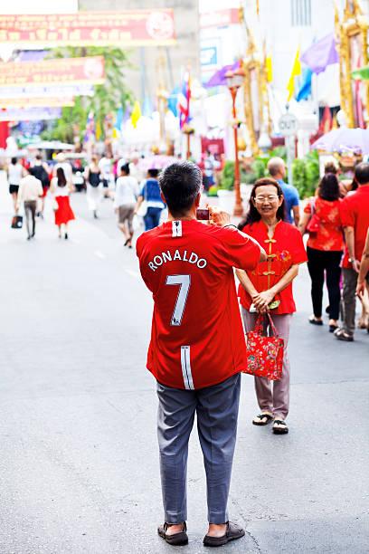 estrela de futebol e ano novo chinês - ronaldo imagens e fotografias de stock