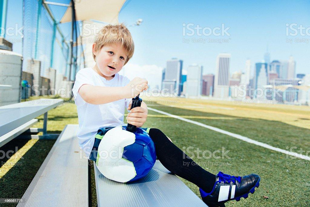 Fußball-Sommer-Camp in New York – Foto