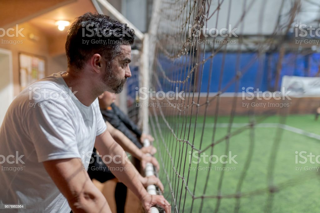 Football supporters stock photo