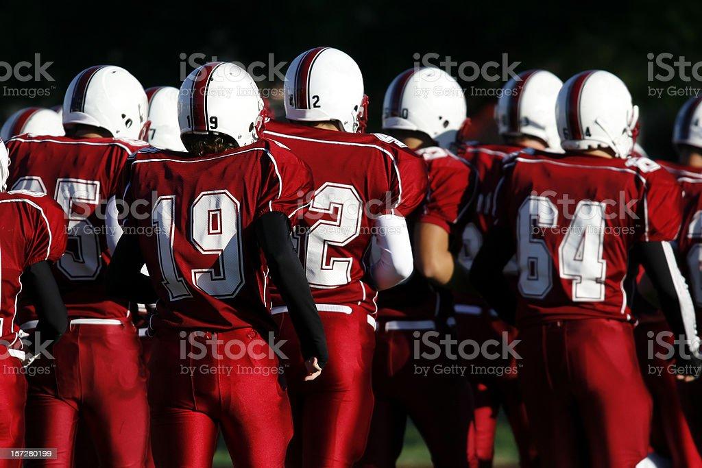 Football Team royalty-free stock photo