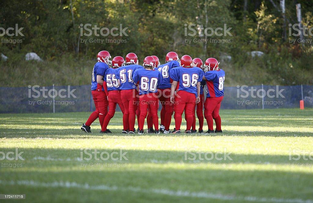 football team stock photo