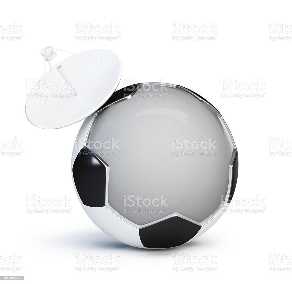 football television parabolic antenna stock photo