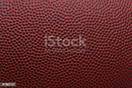 istock Football texture 91862107