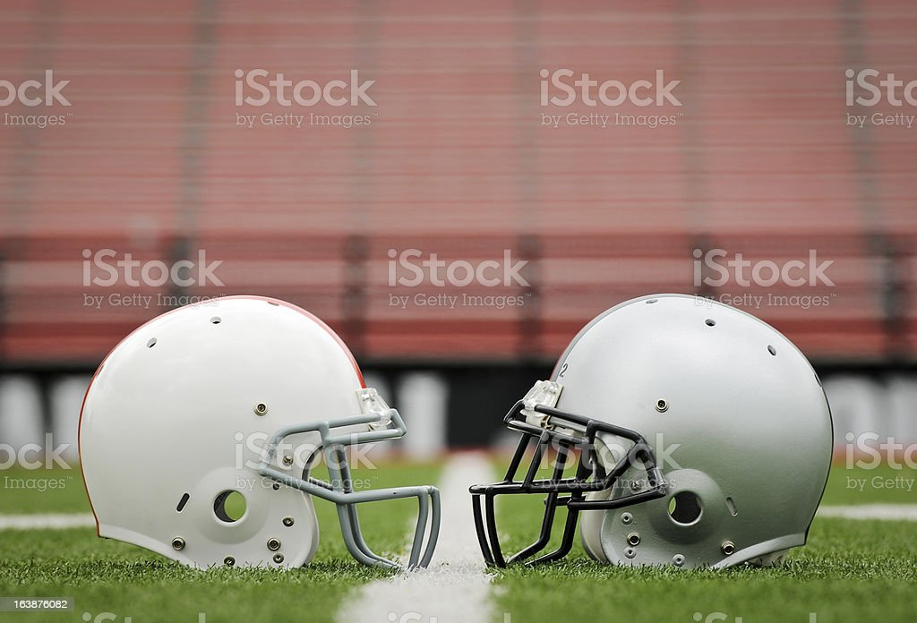 Football The Big Game stock photo