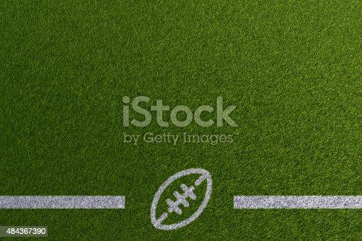 931661614istockphoto Football theme 484367390