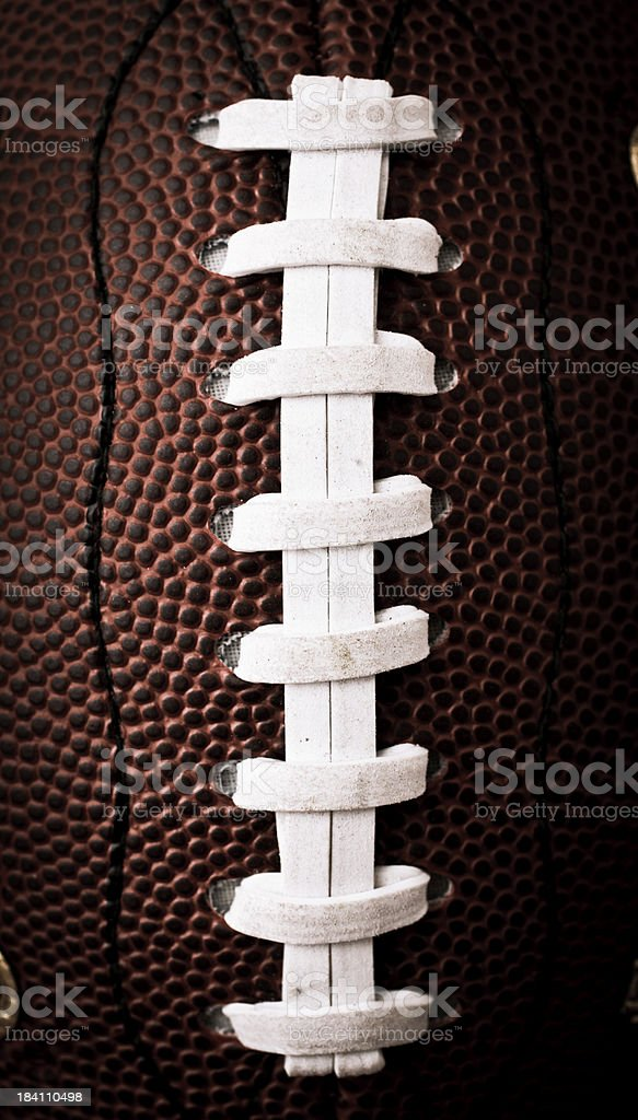 football thread royalty-free stock photo