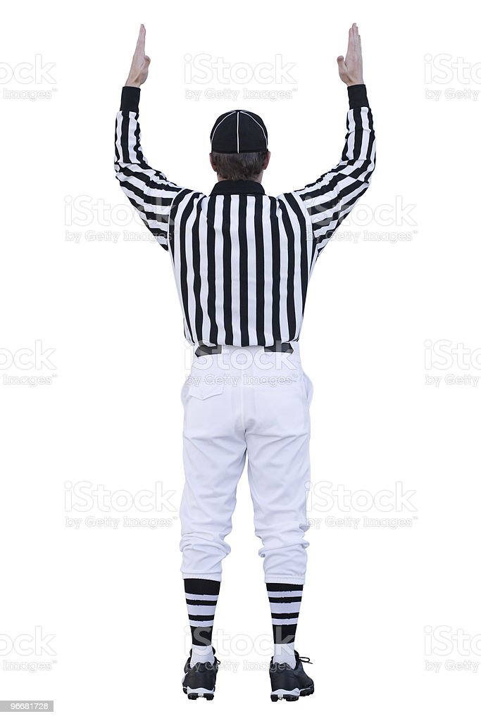 Football Touchdown stock photo