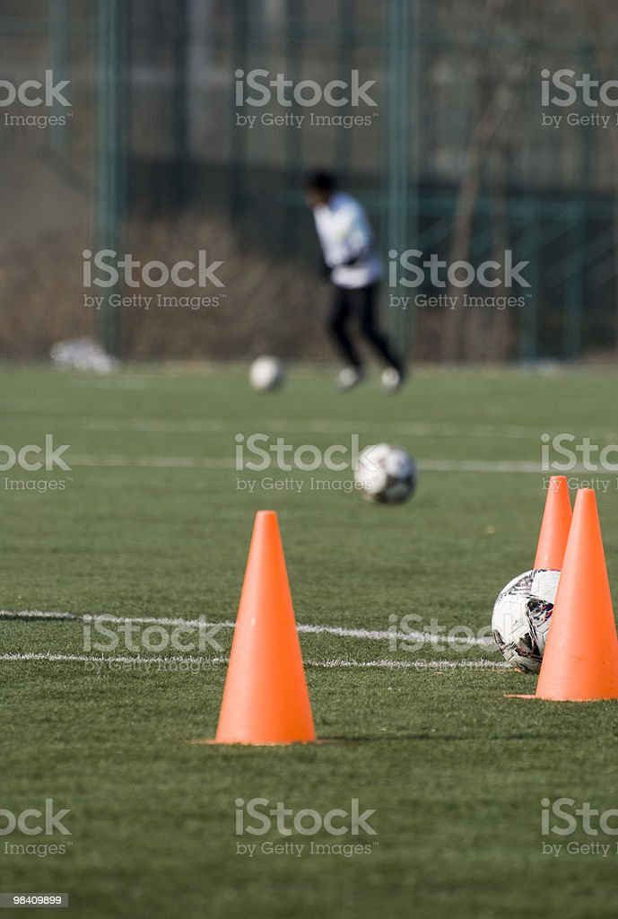 football training royalty-free stock photo
