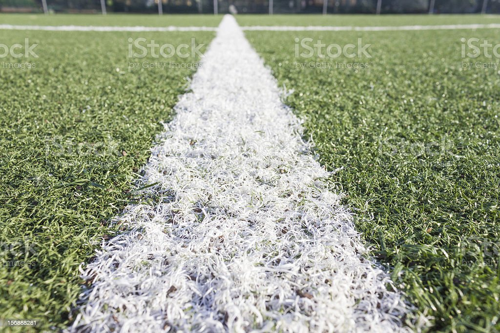 football turf stock photo