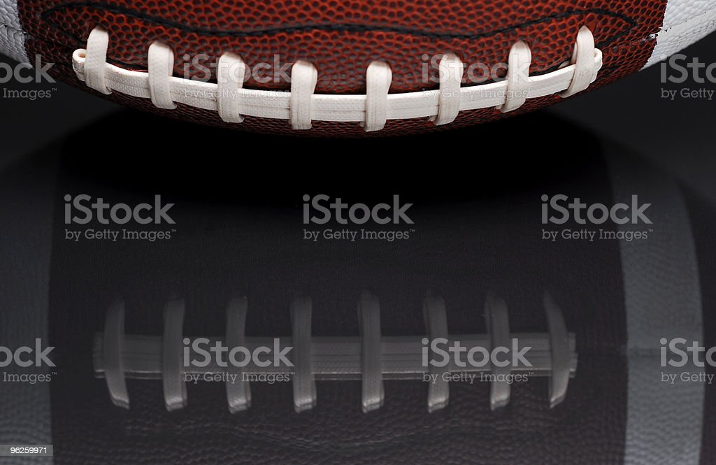 Football with Reflection royalty-free stock photo