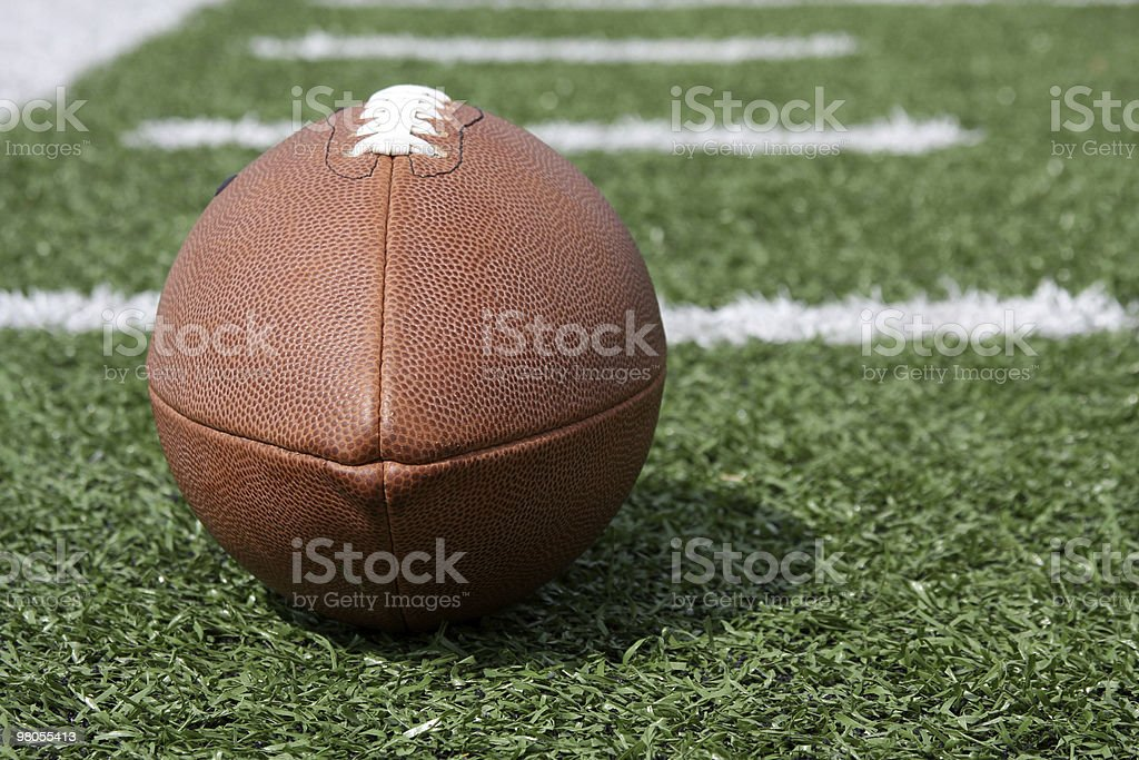 Football with the Fifty Beyond royalty-free stock photo