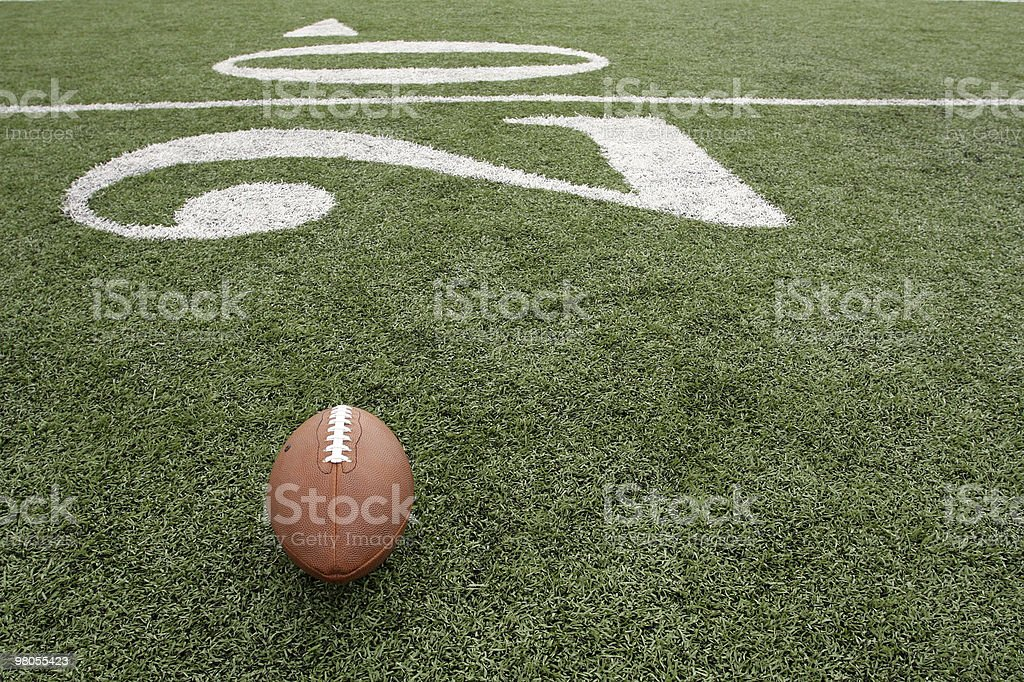 Football with the Twenty Beyond royalty-free stock photo