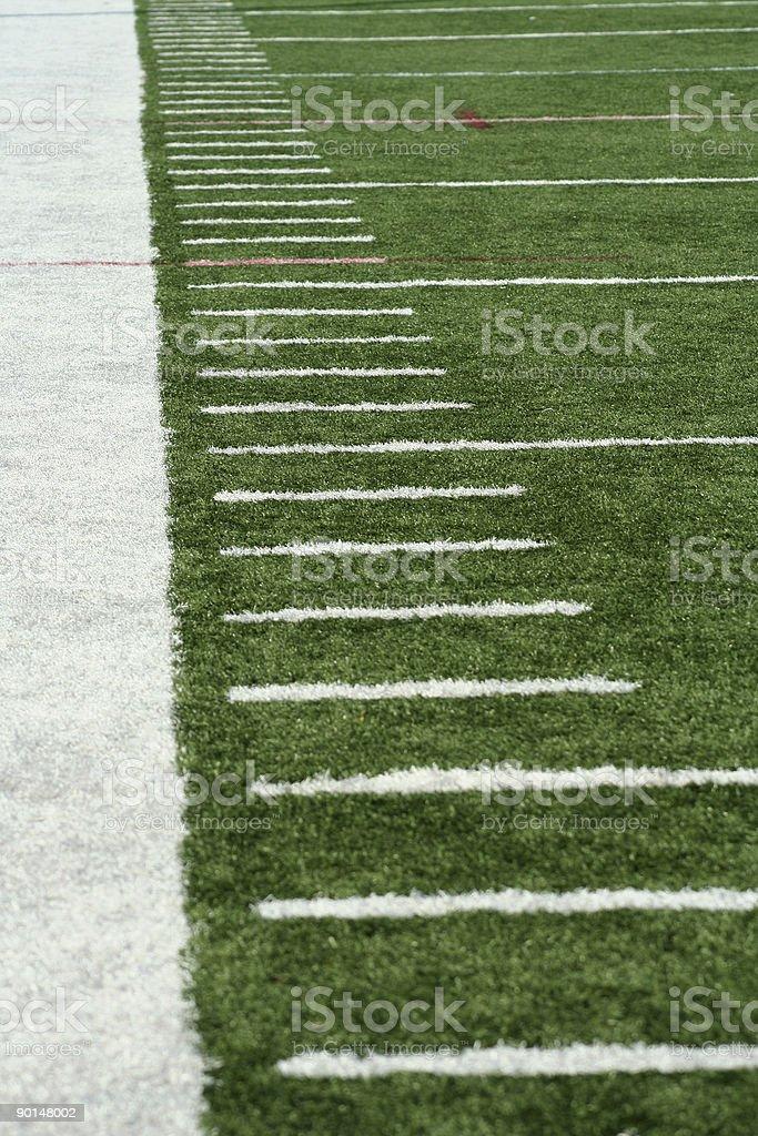 Football Yard Markers stock photo