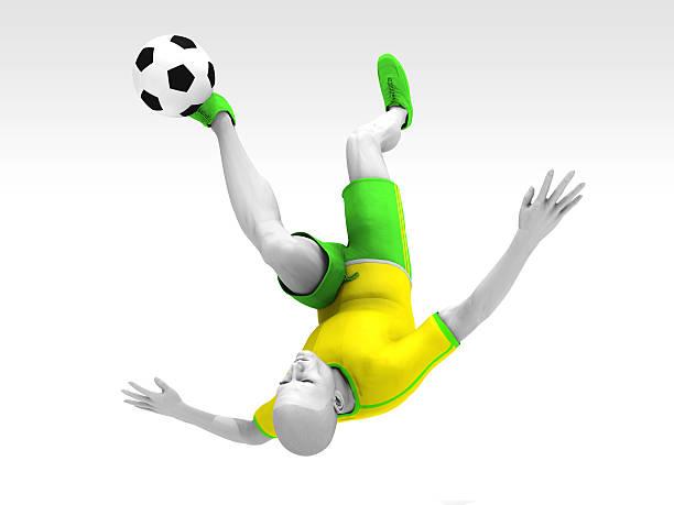 o jogador e a bola - ronaldo imagens e fotografias de stock