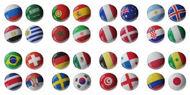 Ballons de football/soccer. - Photo