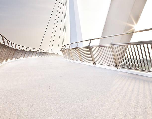 footbridge - walkway and bridge stock photos and pictures