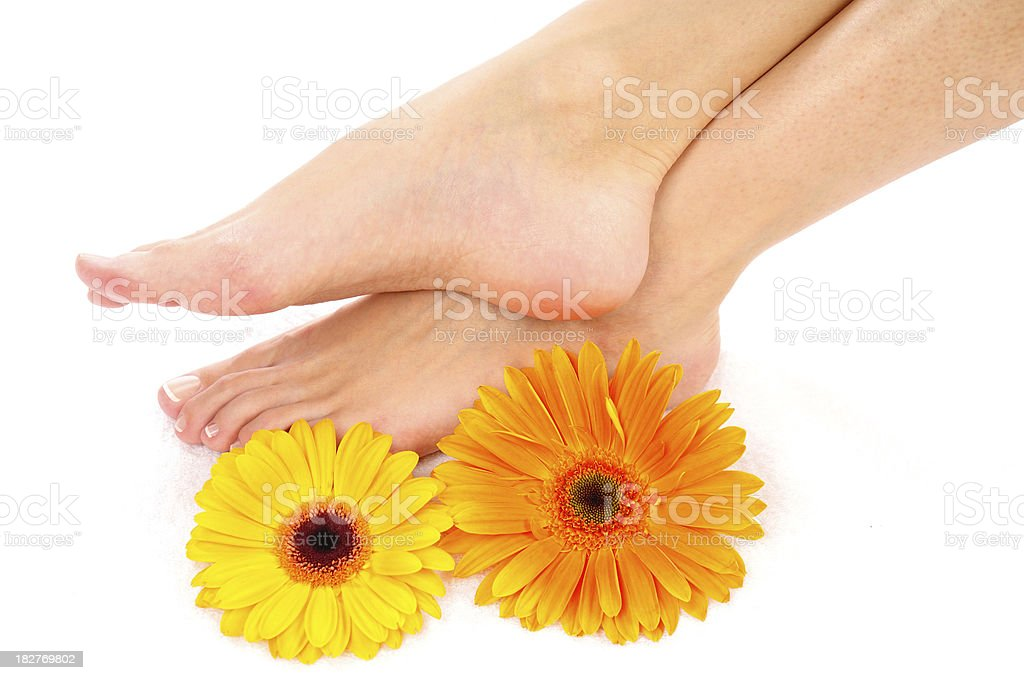 Footcare royalty-free stock photo