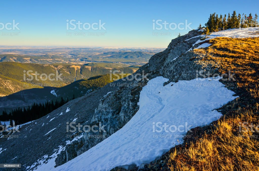 Foothills from Prairie Mountain, Alberta, Canada - Royalty-free Adventure Stock Photo