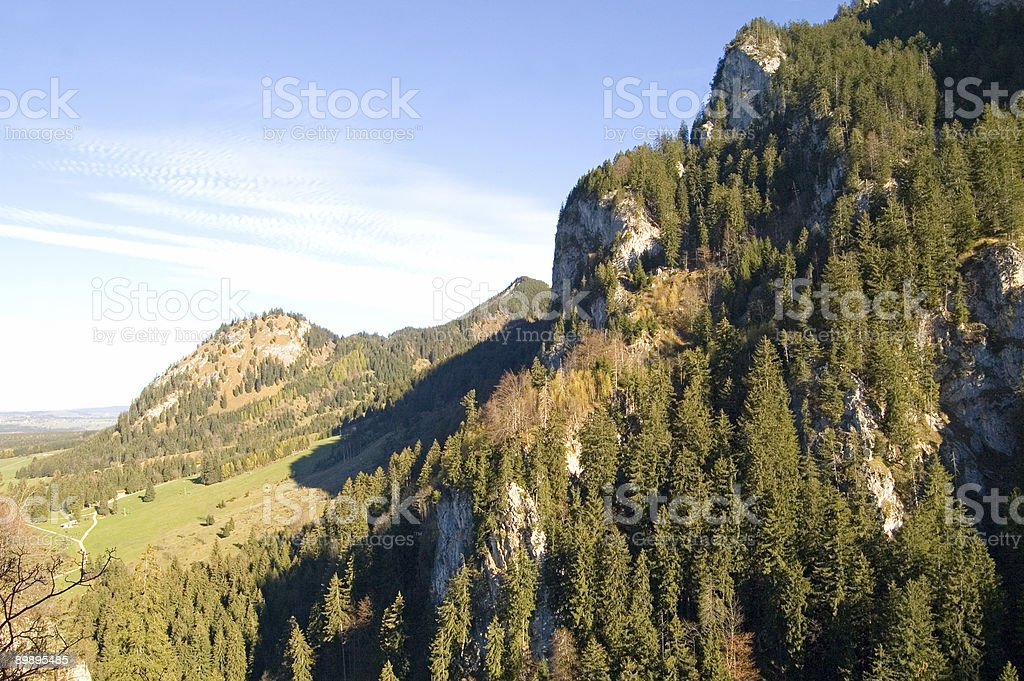 Foothills royalty-free stock photo