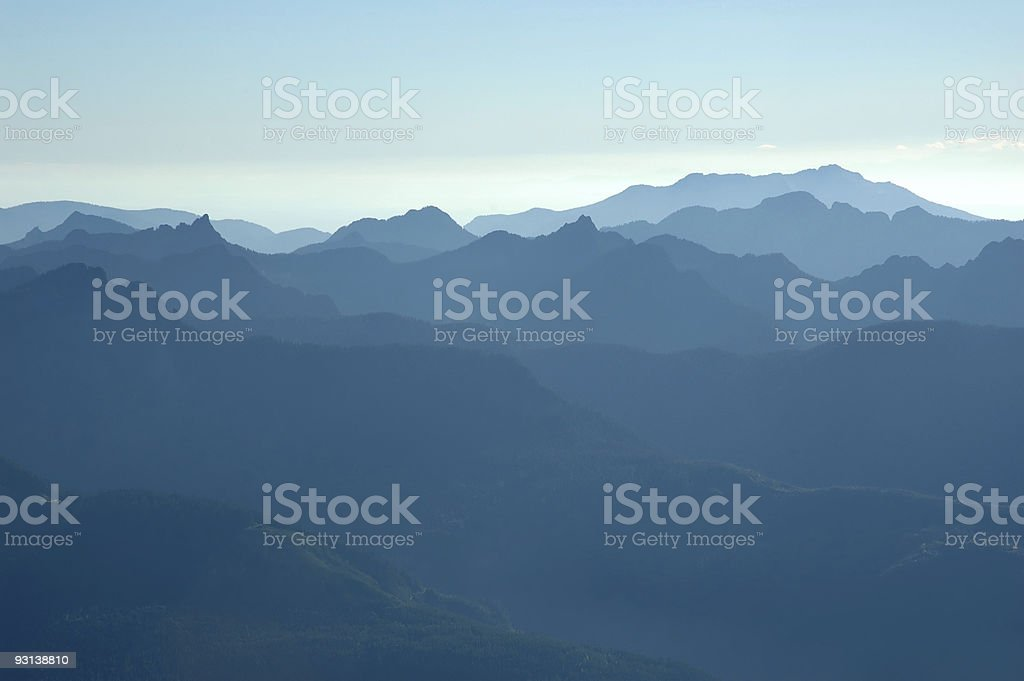Foothills stock photo
