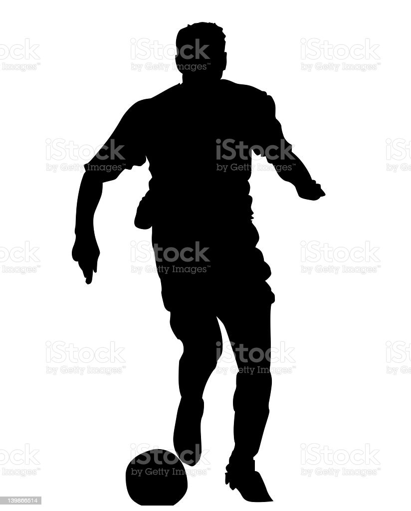 Footie 01 royalty-free stock photo