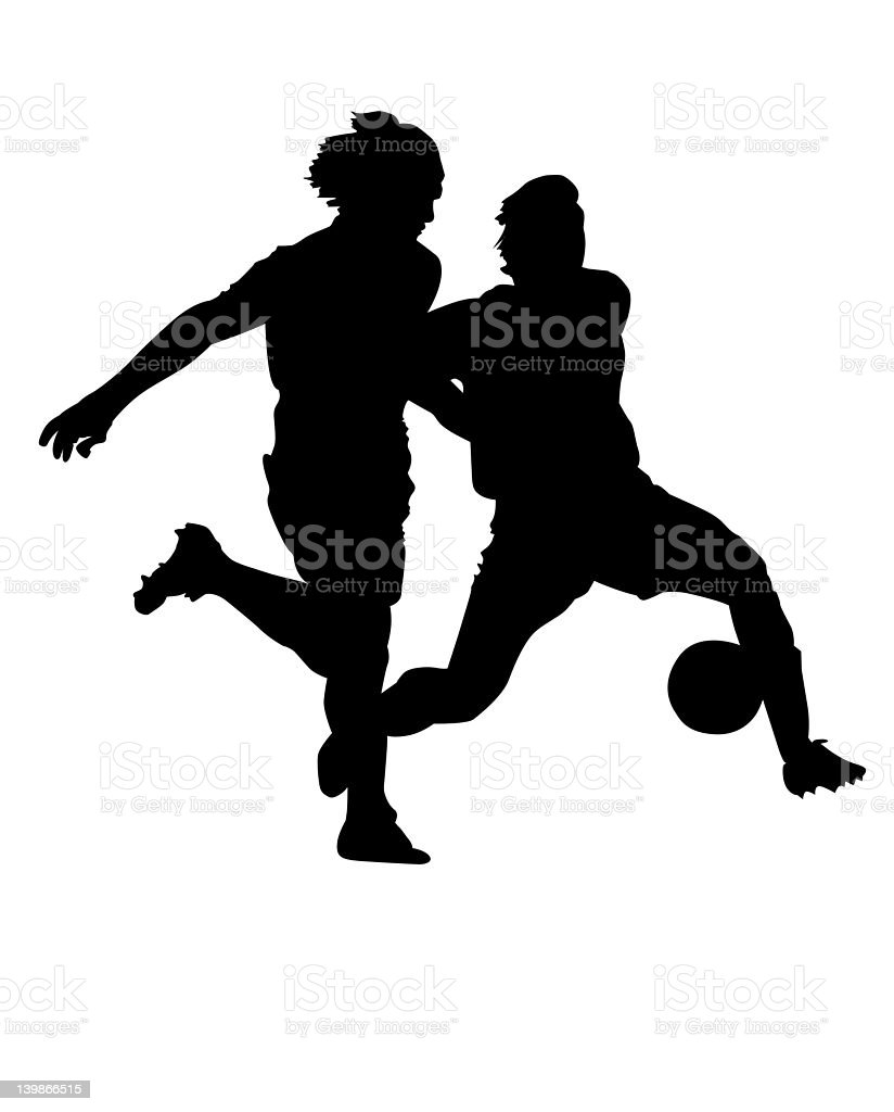 Footie 02 royalty-free stock photo