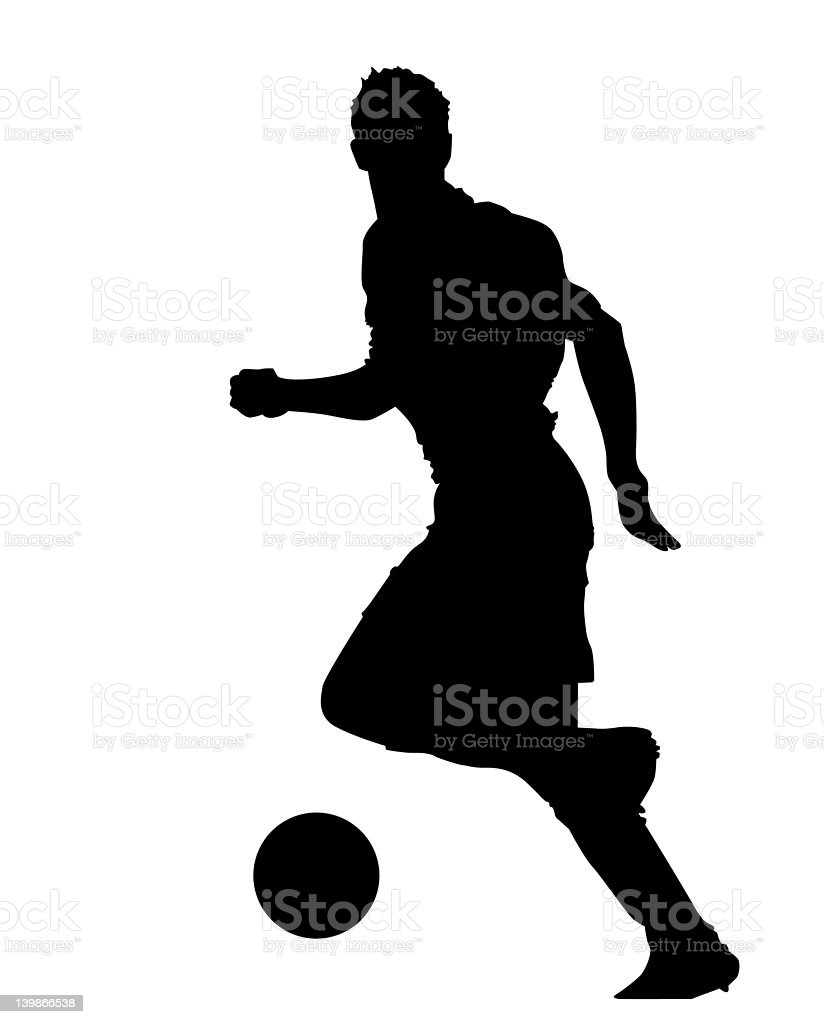 Footie 03 royalty-free stock photo