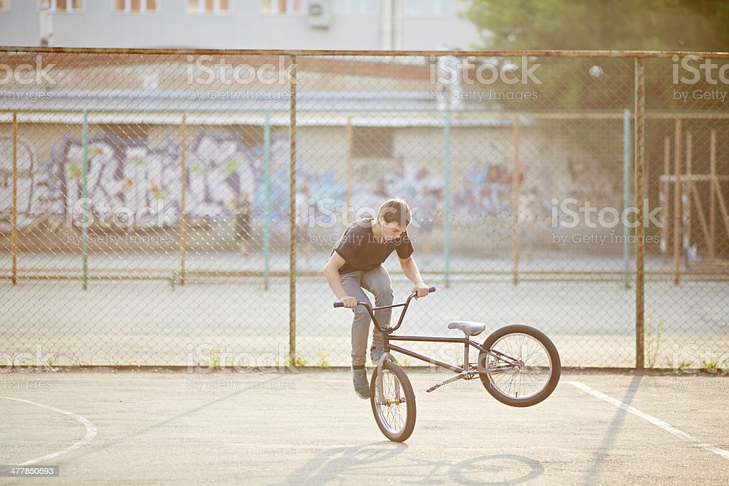 Footjam tailwhip royalty-free stock photo