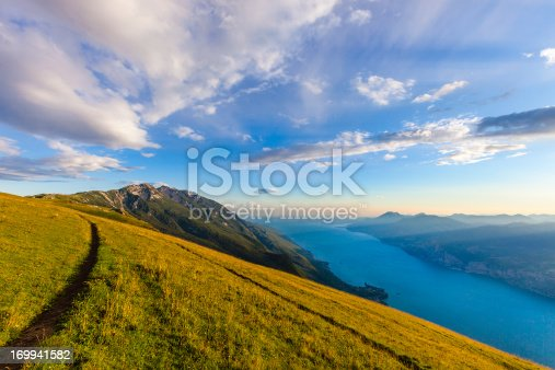 istock Footpath on Monte Baldo, Italy 169941582