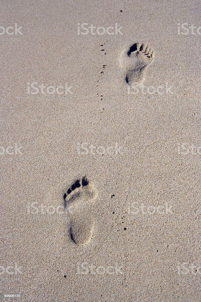 Отпечаток ноги Стоковые фото Стоковая фотография