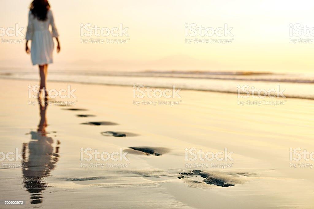 Fotomontaje de un atardecer en la playa
