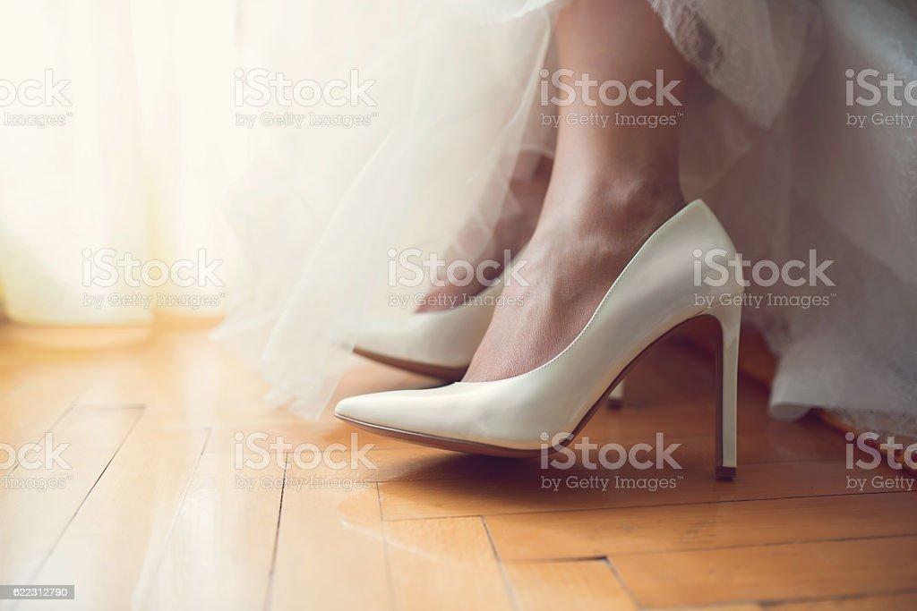 Footwear for the Big day - foto de acervo
