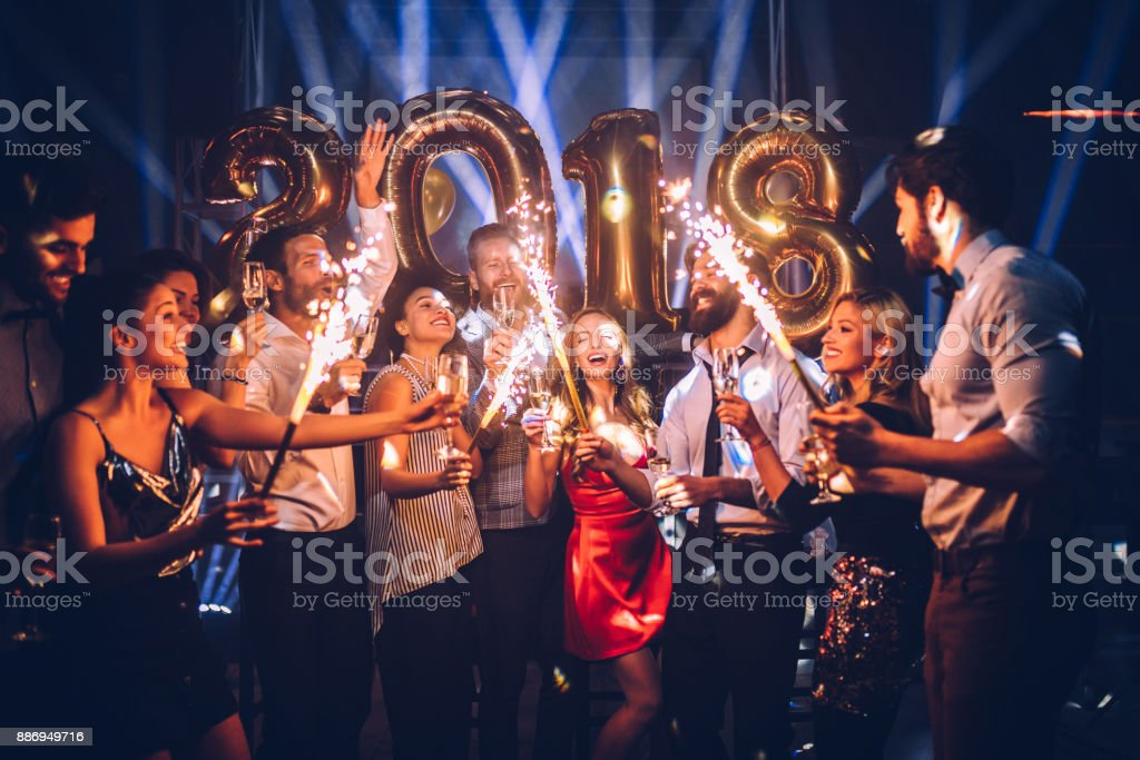 For a sparkling New Year ! stock photo