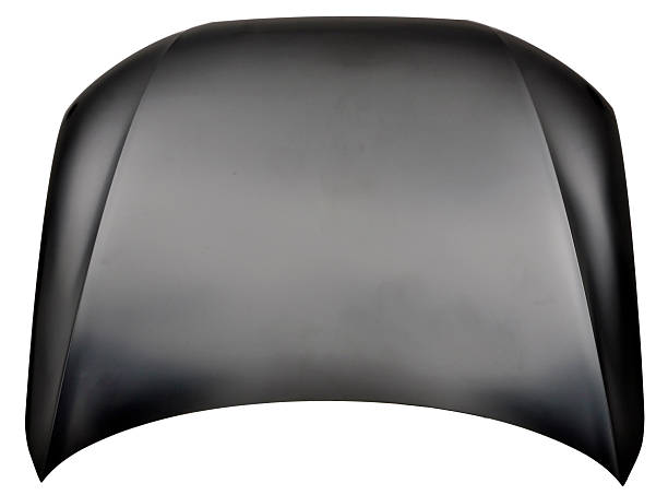 car bonnet spare black car bonnet isolated vehicle hood stock pictures, royalty-free photos & images