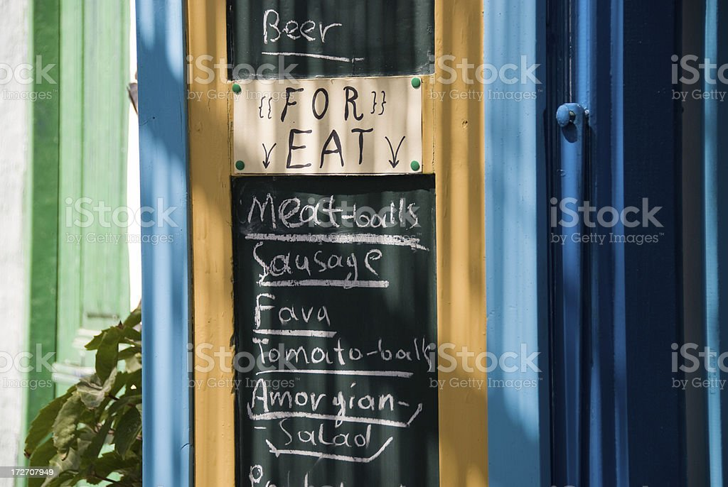 For Eat royalty-free stock photo