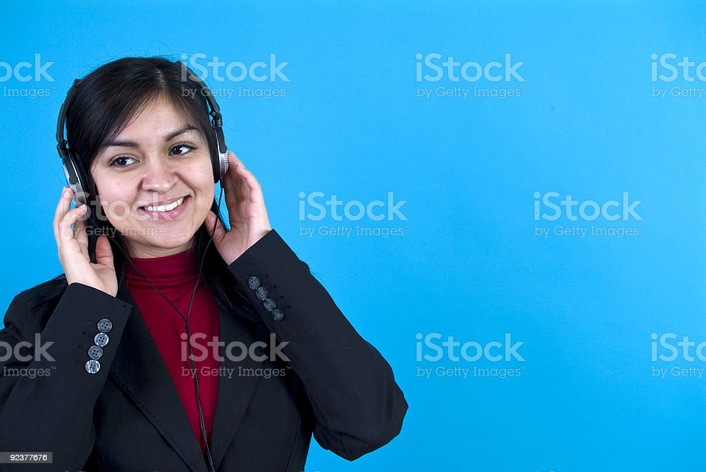 For Her Ears Only royalty-free stock photo