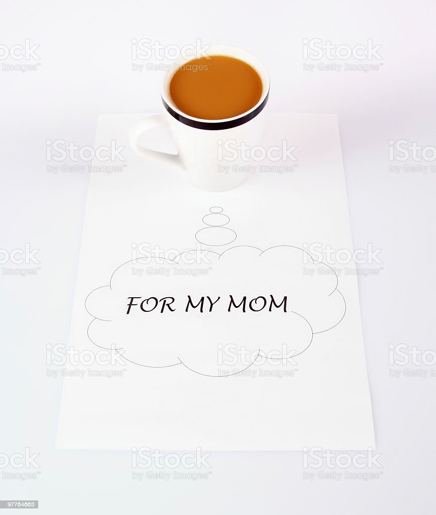 for my mom royalty-free stock photo