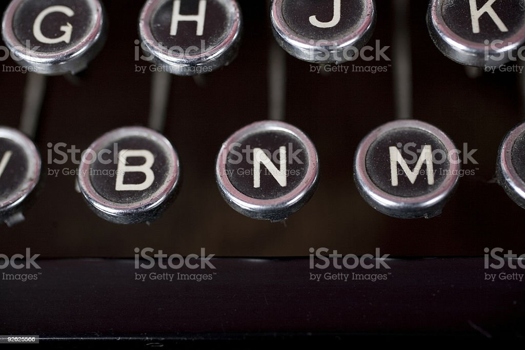 N for No royalty-free stock photo