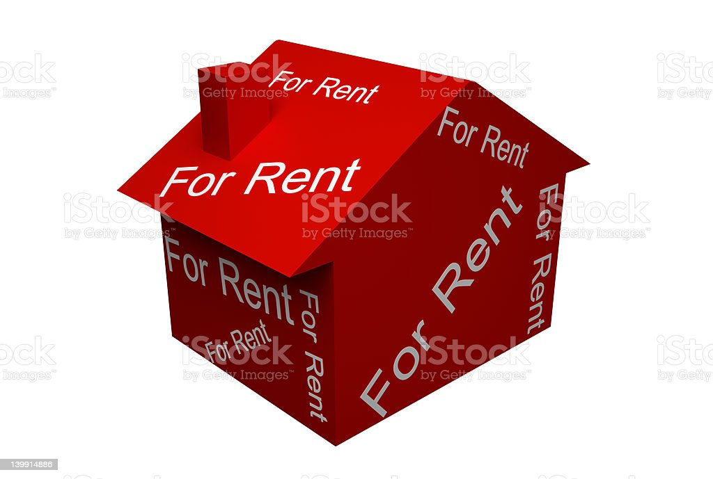 For Rent royalty-free stock photo