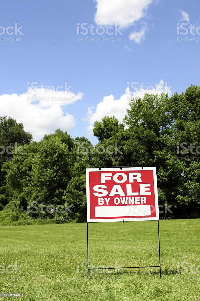 For Sale by Owner stock photo