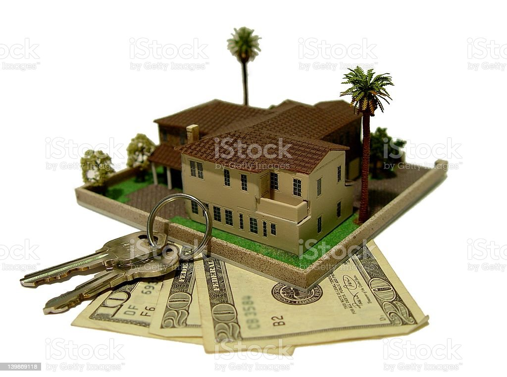 For Sale. Real Estate. royalty-free stock photo