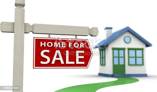 902034612istockphoto For Sale Sign & House 136562303