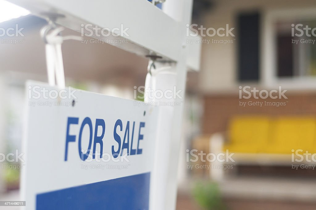 For Sale Sign stock photo