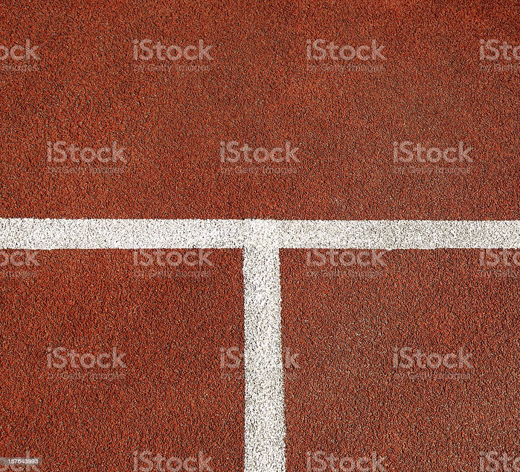 T for Tennis royalty-free stock photo