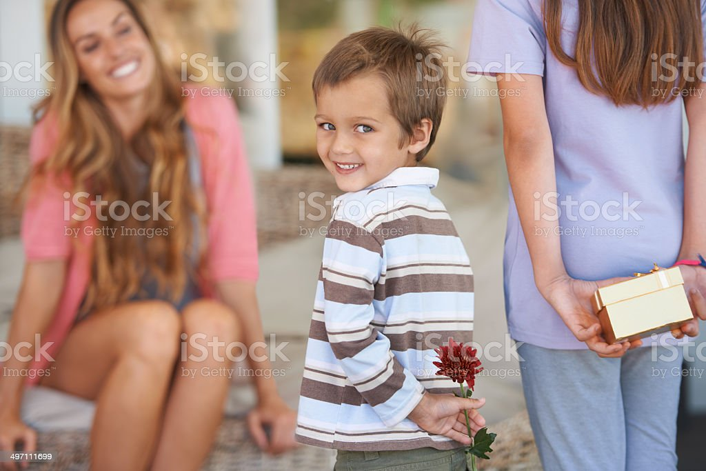For the best mom ever! stock photo