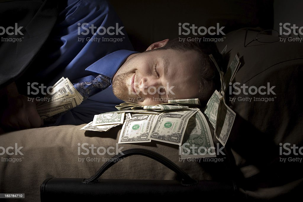 For the love of money stock photo