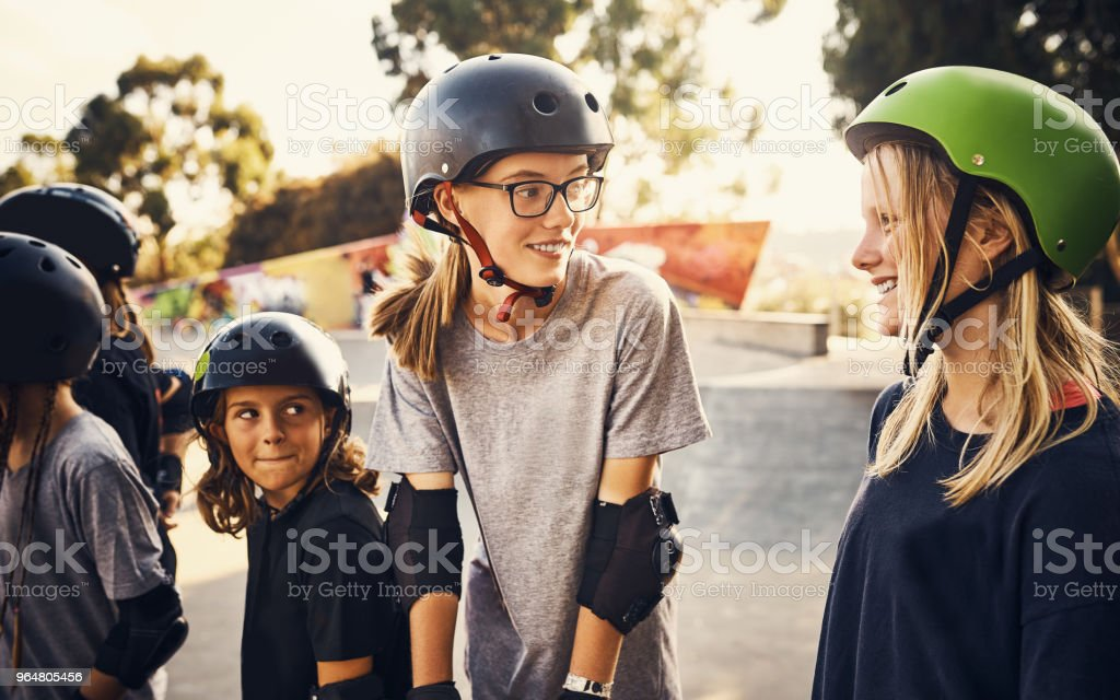 For the love of skating royalty-free stock photo