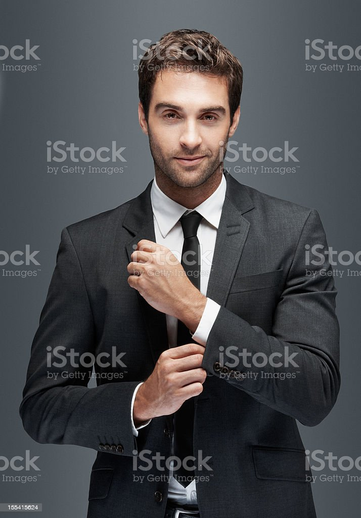 For the man who has it all stock photo