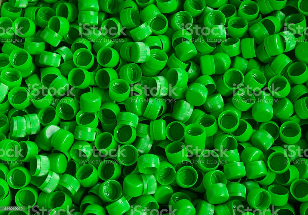 for the production of plastic bottles factory stock photo