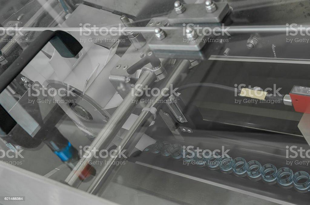 for the production of plastic bottles factory Lizenzfreies stock-foto
